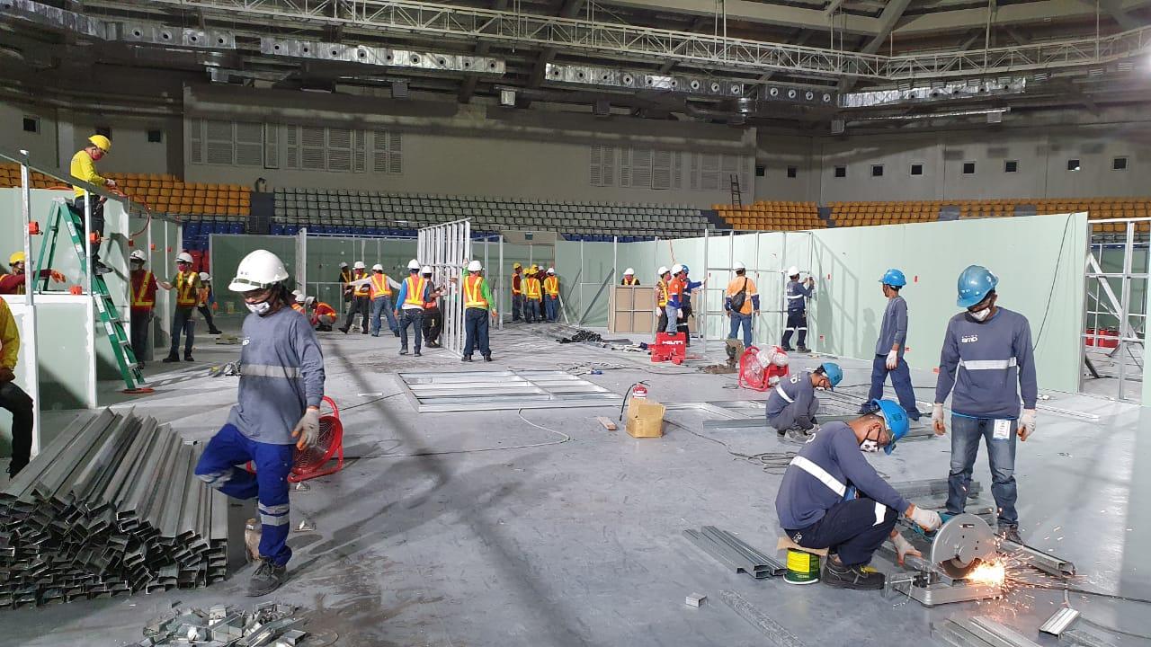 Prime BMD retrofits Ninoy Aquino Stadium as COVID facility