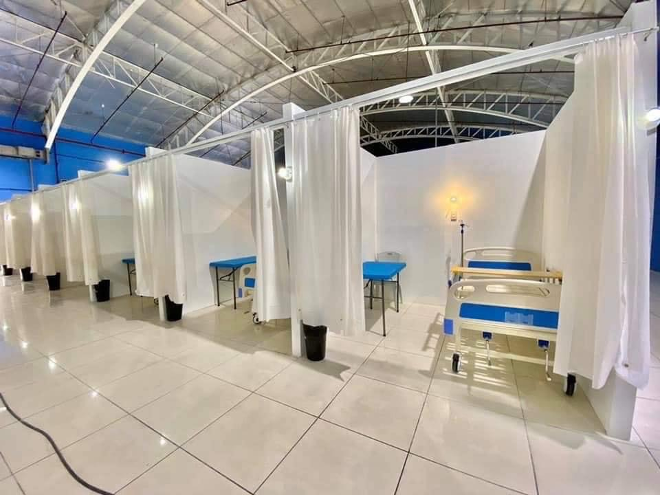 Prime BMD retrofits Eva Macapagal Super Terminal as COVID -19 Facility